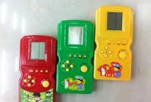 Qualität Weisheit 9999 in 1 Tetris ziegel spiel handheld für kinder(China (Mainland))