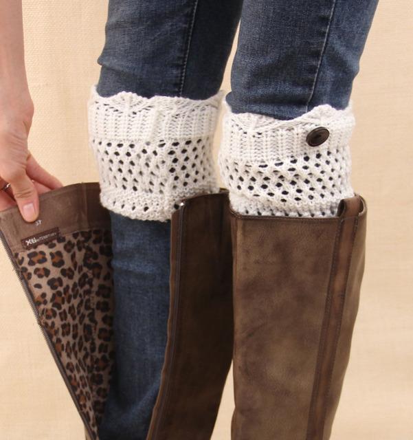 Женщины кружева загрузки манжеты с причудливыми вязание и кнопка для загрузки манжеты ...