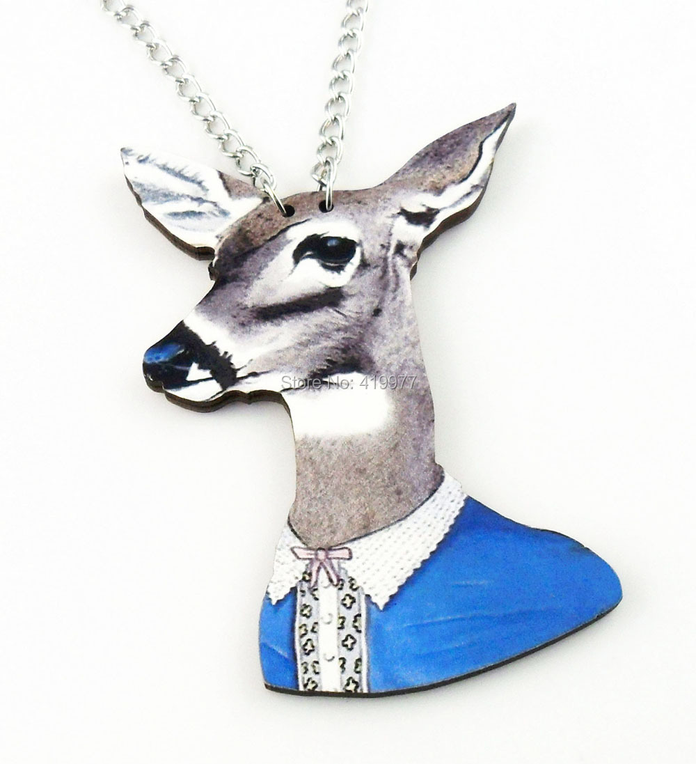 popular mens deer necklacebuy cheap mens deer necklace