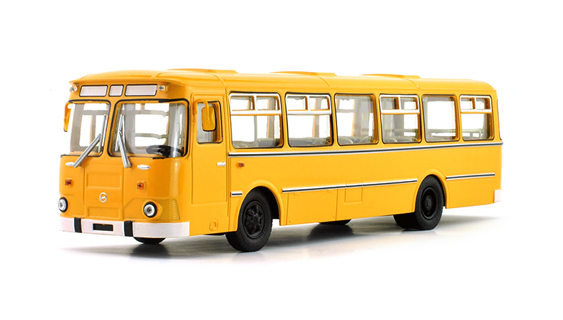 1/43 Russian Bus Liaz-677M Sovetskii Avtobus 15321 Diecast Toy Cars Models FreeShipping(China (Mainland))
