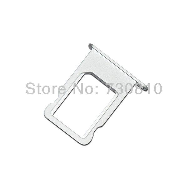 10pcs/lot Silver Nano-SIM tray for iphone 5 free shippingg