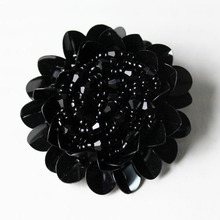 Buy free 5pcs/lot 50mm beads flower black buttons sewing accessories plastic button diy decorative buttons 44 for $21.34 in AliExpress store