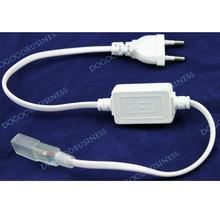 FREE SHIPPING! 3528 / 5050 SMD LED 220v  Strip Plug, LED Strip Accessory Special Plug Power supply plug(China (Mainland))