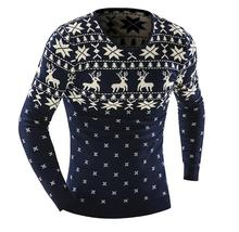 2015 autumn and winter fashion men's sweater pullover sweater men's casual clothing brand