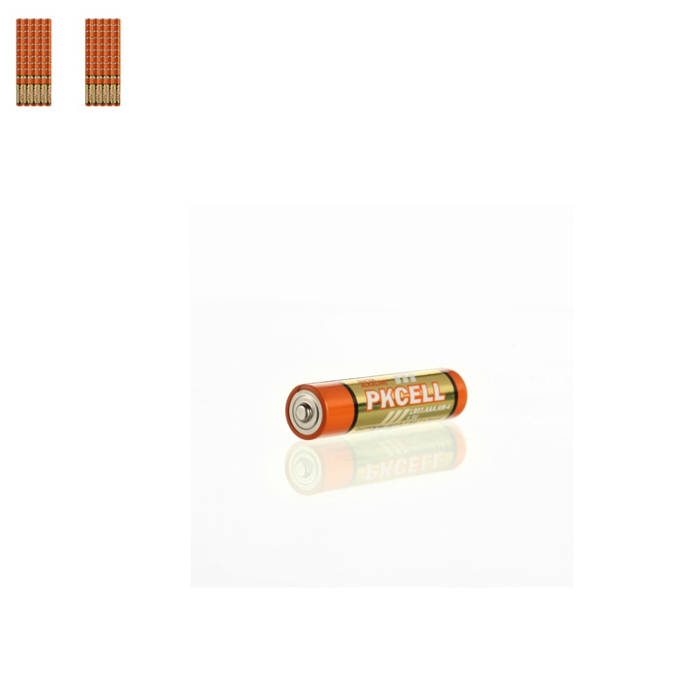 100pcs AAA LR03  1.5v 140min  Super Alkaline Dry Battery   for walkman, remote controller, toys etc