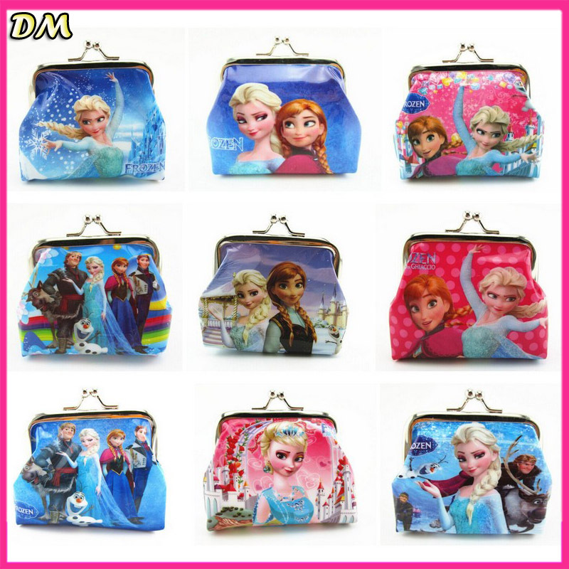 Гаджет  Fashion Children/Kids Character Print PVC Mini Wallet Hello Kitty Peppa Pig Coin Purses Cheap Gift For Boys Girls None Камера и Сумки
