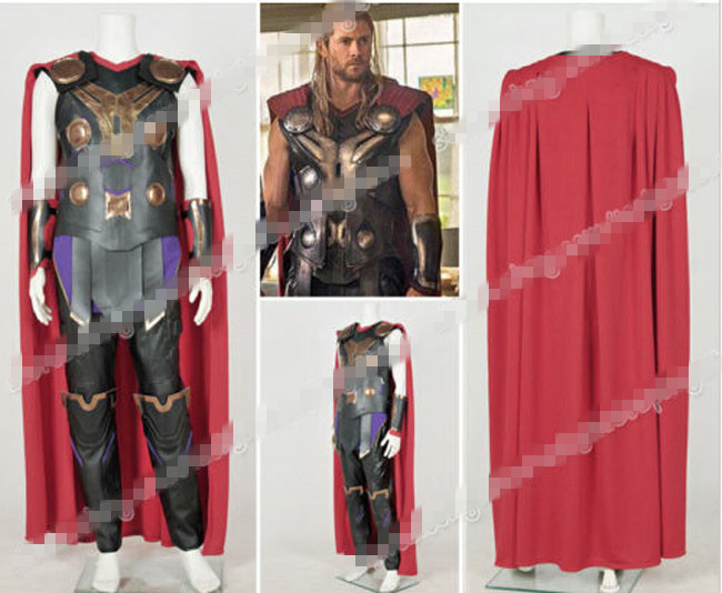 New Arrival Custom Made The Avengers Thor Cosplay CosutmeОдежда и ак�е��уары<br><br><br>Aliexpress
