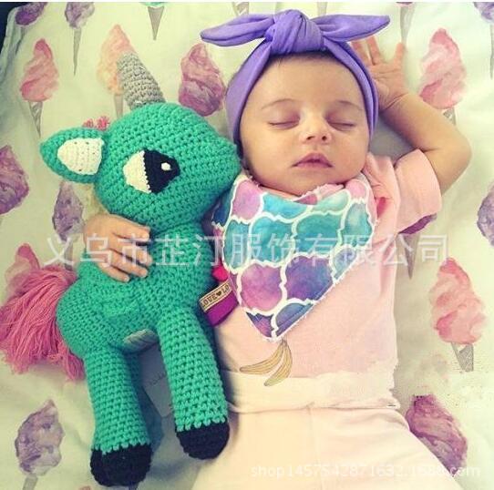 Gebreide baby speelgoed koop goedkope gebreide baby for Baby op zij slapen kussen