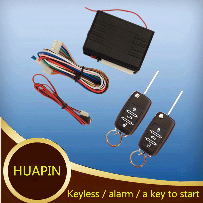 Universal remote car Alam security Systems Car Auto Central Kit Door Vehicle Keyless Entry System New With Remote Controllers(China (Mainland))