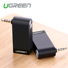 4.1 Wireless Car Bluetooth Receiver,Ugreen 3.5mm Bluetooth Audio Receiver Adapter for Speaker Headphone Home Hands-Free(China (Mainland))