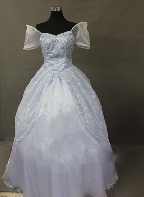 Free Shipping  Cinderella Princess Dress Costume cosplay halloween costumes for women can be Custom-madeОдежда и ак�е��уары<br><br><br>Aliexpress