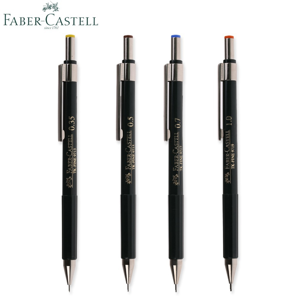 germany faber castell mechanical pencil tk fine 9715 mechanical pencil 0 35 1 0 0. Black Bedroom Furniture Sets. Home Design Ideas