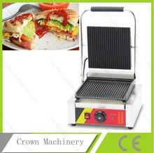 Única cabeça elétrica de mesa máquina de sanduíche ; sanduíche comercial brinde máquina ; chapa Panini ; hot Sandwich maker(China (Mainland))