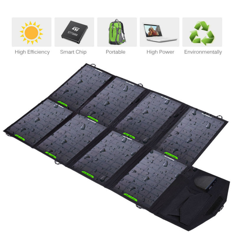 28W 5V/18V Foldable Solar Panel Charger Portable Solar Charger Ourdoor Emergency Phone Laptop Charger for Camping Free Shipping(China (Mainland))