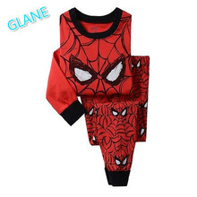 Buy 2016 New Kids Baby Boy Spiderman Top Pant Sleepwear Children's Pajamas Nightwear Pjs Clothes Set kigurumi coverall pajamas for $5.56 in AliExpress store