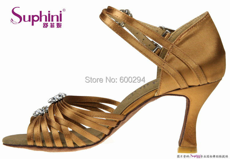 2014 Suphini High Cost Performance Latin Shoes, Fashion Dance Shoe, High HeelLlady Salsa Shoes Free Shipping(China (Mainland))
