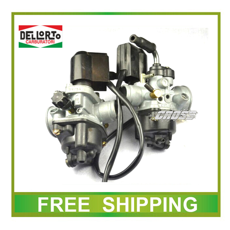 dellorto carburetor ZONGSHEN PIAGGIO scooter 50cc typhoon 50 2 stroke JOG 50 carburetor free shipping(China (Mainland))