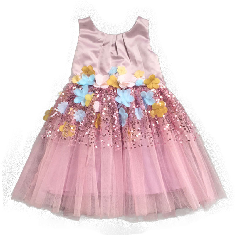 children dress 2016 wedding flower girl toddler dresses