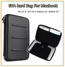 "HOT EVA Hard Bag Sleeve Case For Macbook Laptop Air 11.6, Air 13.3"",Retina12"",Retina 13.3"",13"", Wholesale, Free Drop Shipping 07(China (Mainland))"