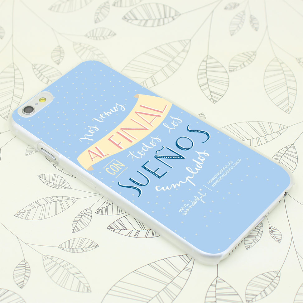 656F mr wonderful 16 Hard Transparent Case Cover for iPhone 7 7 Plus 4 4s 5 5s 5c SE 6 6s Plus