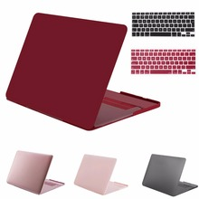 MOSISO Brand New Hard Matte Frost Case Cover For MacBook Pro 13 15inch Hard Cover Case For Apple Shell/Skin+ Free Keyboard Cover