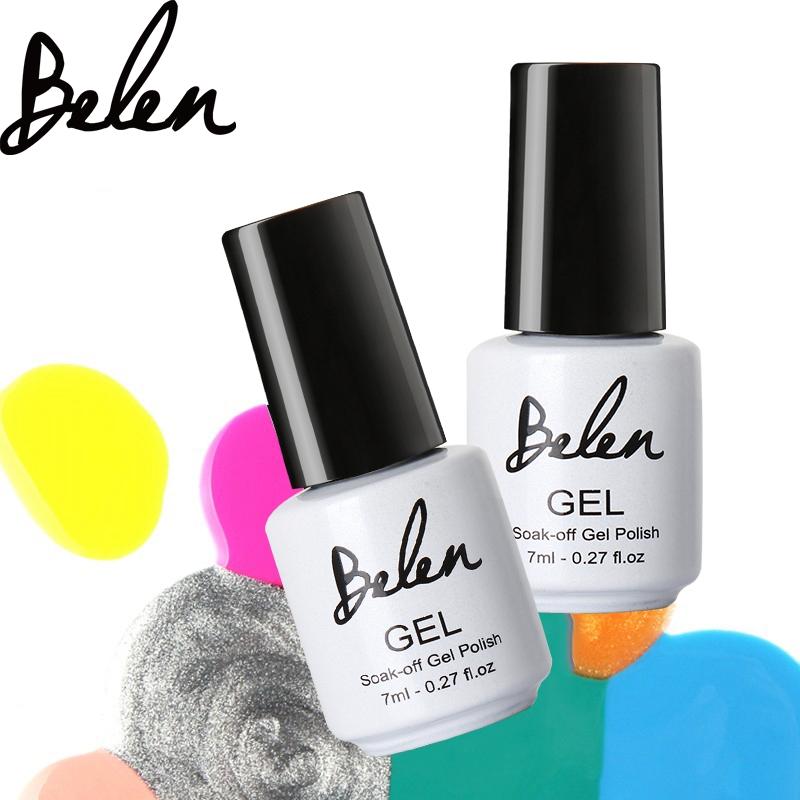 Belen 7ml Gelpolish UV Gel Nail Polish Long Lasting Glaze LED Vernis Gel Lacquer Nail Art Builder Nail Polish LED(China (Mainland))