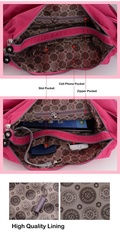 Women Messenger Bag Vintage Travel Fashion Bolsas Femininas Ladies Lig