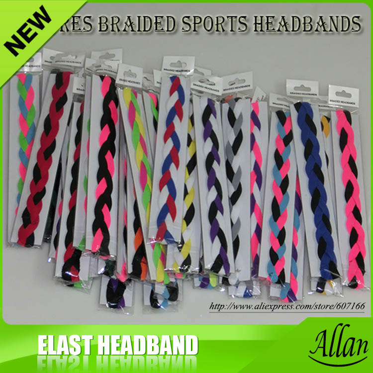custom fancy women elastic basketball headbands(China (Mainland))