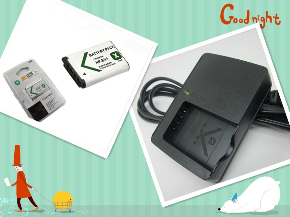NP-BX1 NP BX1 Battery Pack+charger for SONY DSC RX1 RX100 RX100iii M3 M2 RX1R WX300 HX300 HX400 HX50 HX60 GWP88 PJ240EAS15 WX350(China (Mainland))