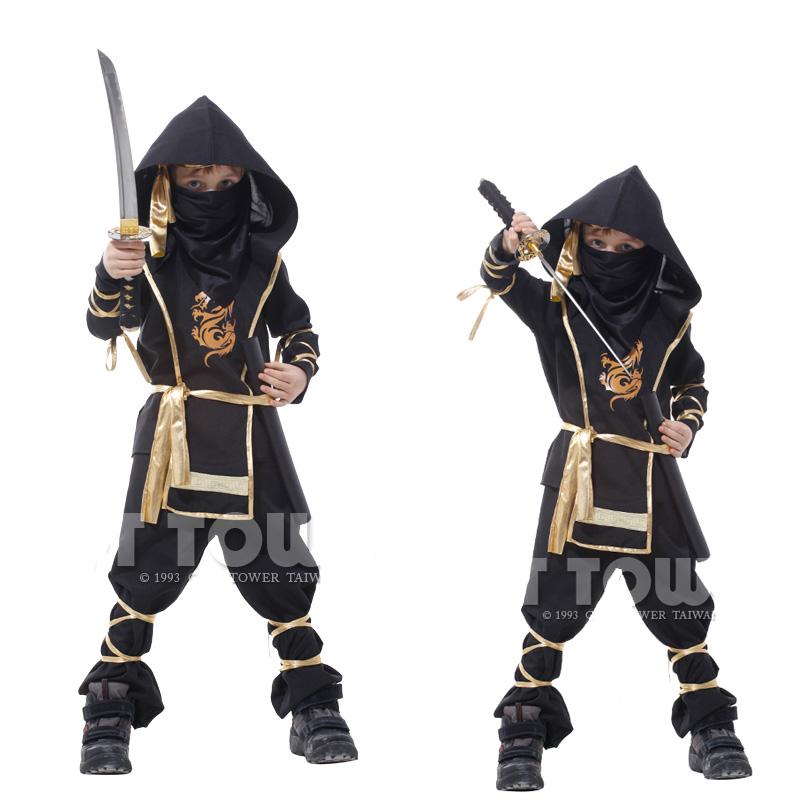 Гаджет  Free shipping New brand 110-140cm Children boy Martial Ninja Halloween Cosplay Warrior Stage Suit Kids Swordsman Costume None Одежда и аксессуары
