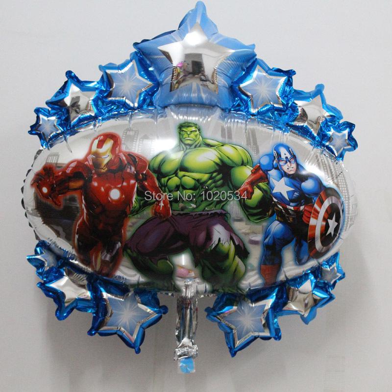 Wholesale10pcs Lot Superman Iron Man Batman Hulk Foil