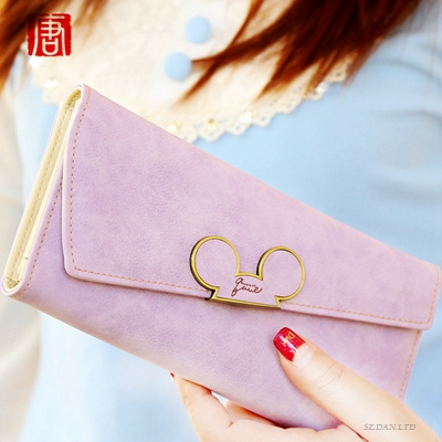 Hot Sale High Quality Pu Leather Wallet For Women Fashion Clutch Long Women Wallets Card Holder Portfolio Female Purse Wallet(China (Mainland))