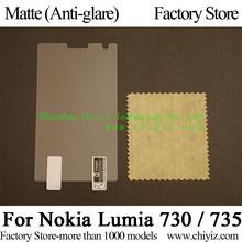 Matte Anti-glare Screen Protector Guard Cover protective Film For Nokia Lumia 730 Dual SIM / Nokia Lumia 735
