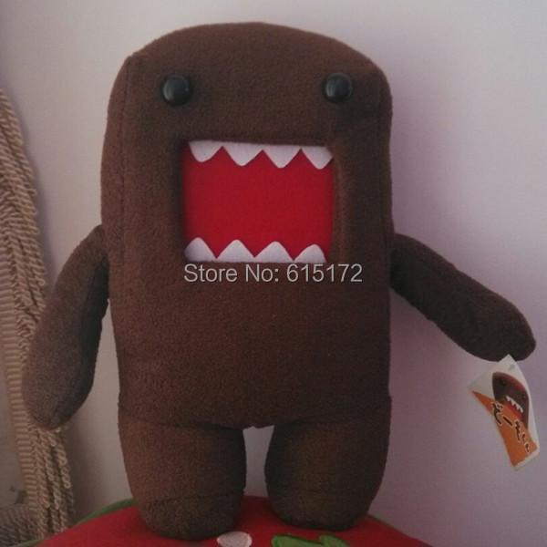 1 piece 28cm Birthday Gift Funny Kawaii Cute Brown Plush domo-kun domokun domo kun Toy Doll Stuffed Animal - Bunny's Sweet Store store