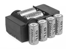 Details about 6x 2300mAh 16340 CR123A 3.7v Li-ion Rechargeable Battery + Smart Charger B172
