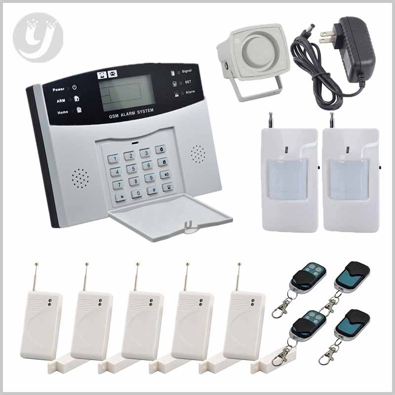 HOMSECUR Wireless GSM SMS Home Security Alarm System Auto Dial Home Security(China (Mainland))