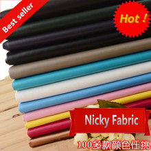 Faux PU Leather Fabric 0.7mm Thickness Synthetic Leather for Bag tissu cuir Artificial Leather for sewing material Wholesale(China (Mainland))