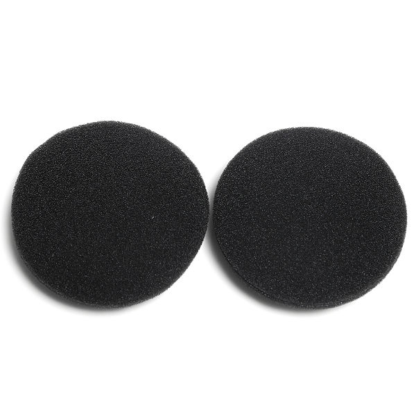 Best Promotion 2 pads Replacement HeadPhone Pads 50mm Headset Earphone Foam Earpads Cover Wholesale price<br><br>Aliexpress
