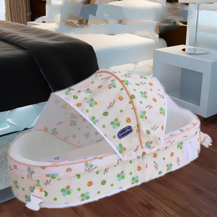 portable baby infant bed cotton mattress foldable baby bedding warm comfortable crib baby. Black Bedroom Furniture Sets. Home Design Ideas