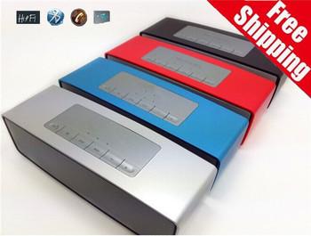 Бесплатная доставка таблетки Bluetooth динамик Altavoz Bluetooth колонки двойной бас Parlantes Blutooth 3D объемного сабвуфер стерео