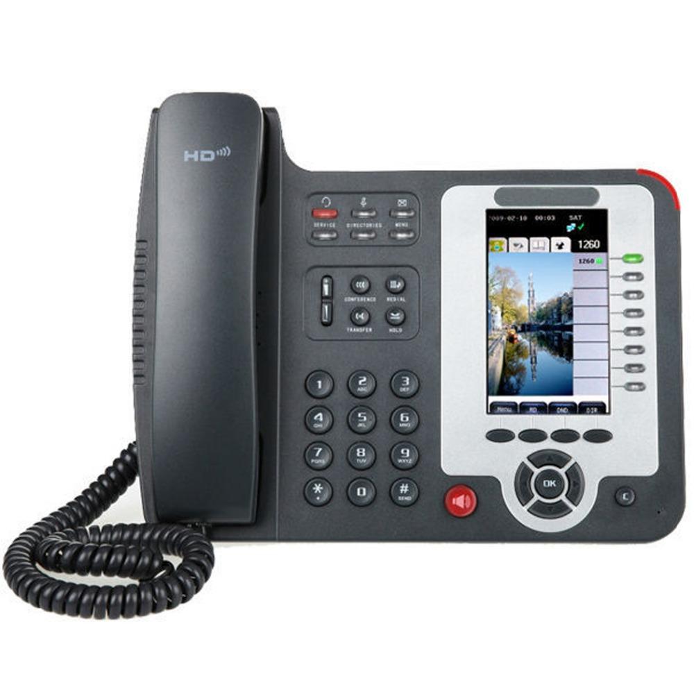 8 Lines WiFi VolP Phone, Executive Wireless IP Phone Support 8 SIP Accounts, Executive HD Wireless Desktop IP Phone(China (Mainland))