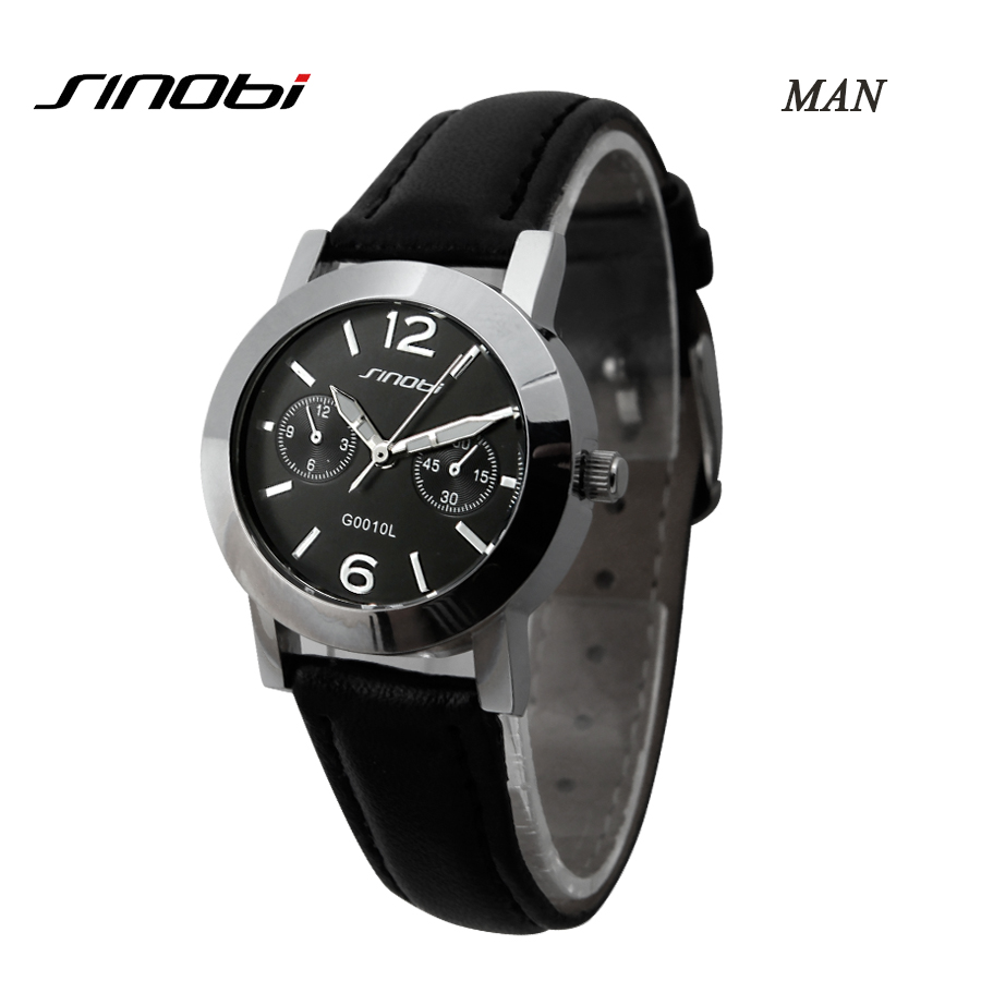 SINOBI Lovers Watch Set Silicone Belt Relogio Masculino Analog Relojes Mujer 2016 Quartz Couples Watches Sets For Men and Women<br><br>Aliexpress