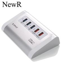 3-х портовый USB 3.0 концентраторы + 2 разъём(ов) BC1.2 смарт USB зарядное устройство с адаптером питания для MAC портативный компьютер периферийных устройств пк бесплатная доставка