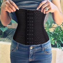 Belly Band Corset Girdle Waist Trainer Cincher Body Shaper Elasticated Belt Sport Tummy Girdle Glass Ladies Underbust Control(China (Mainland))