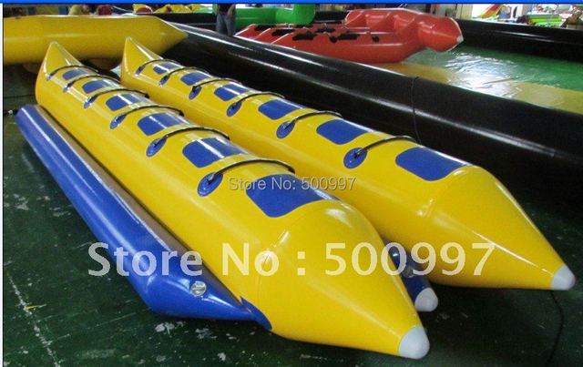 2015 inflatable banana boat with 12 seater