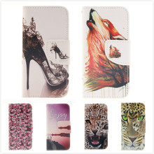 Hot Selling! Offbeat Animal High-heeled shoe PU Leather Case Stand Wallet Card Mobile Phone Cover For iPhone 6 iPhone 6s