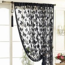 New Hot Butterfly Fringe String Curtain Panel Window Room Divider Tassel 11 Colors(China (Mainland))