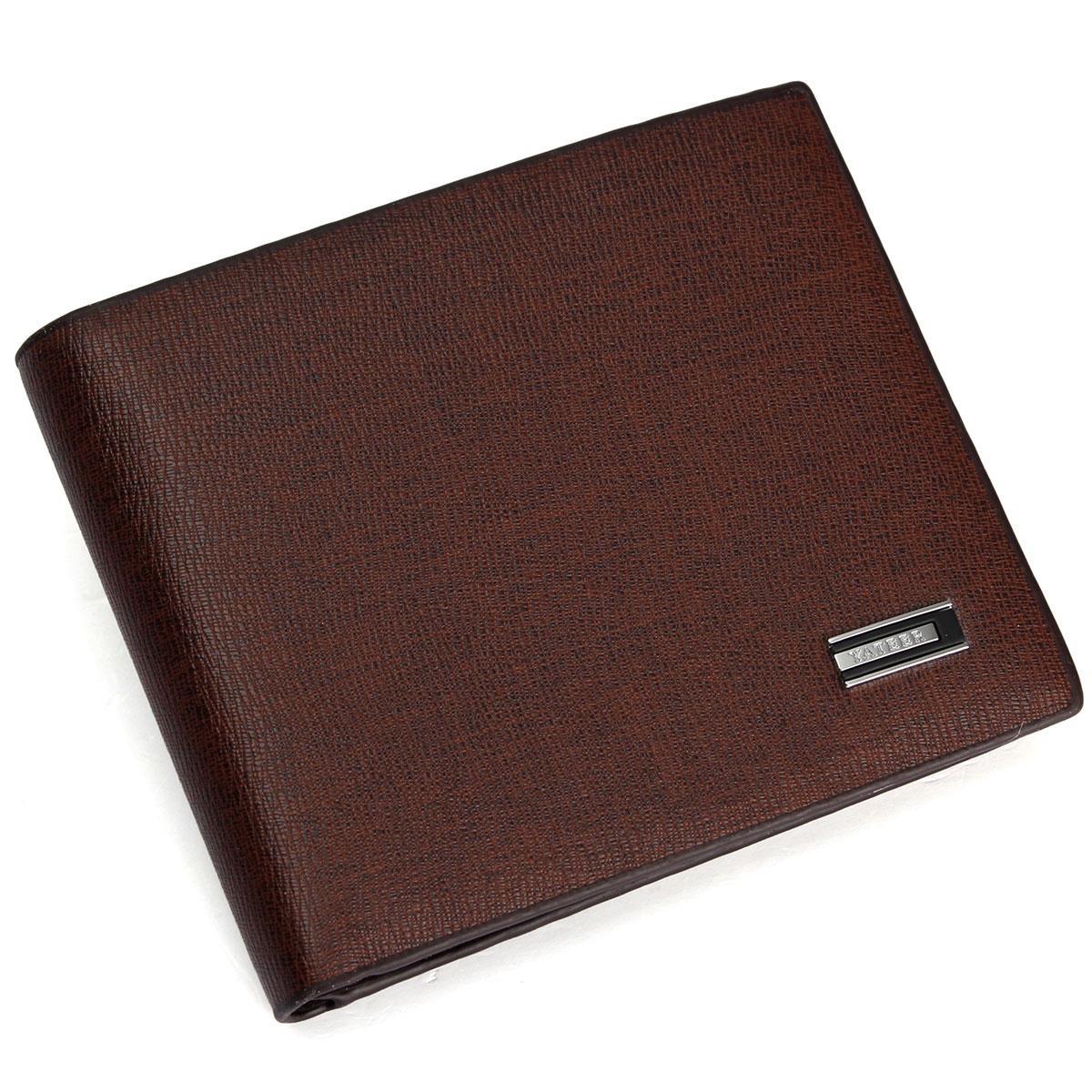 2015 Men Business Short Wallets Wood Texture Ultrathin Interlayer Leather Pouch Credit Card Holder Money Billfold Coin Purse<br><br>Aliexpress