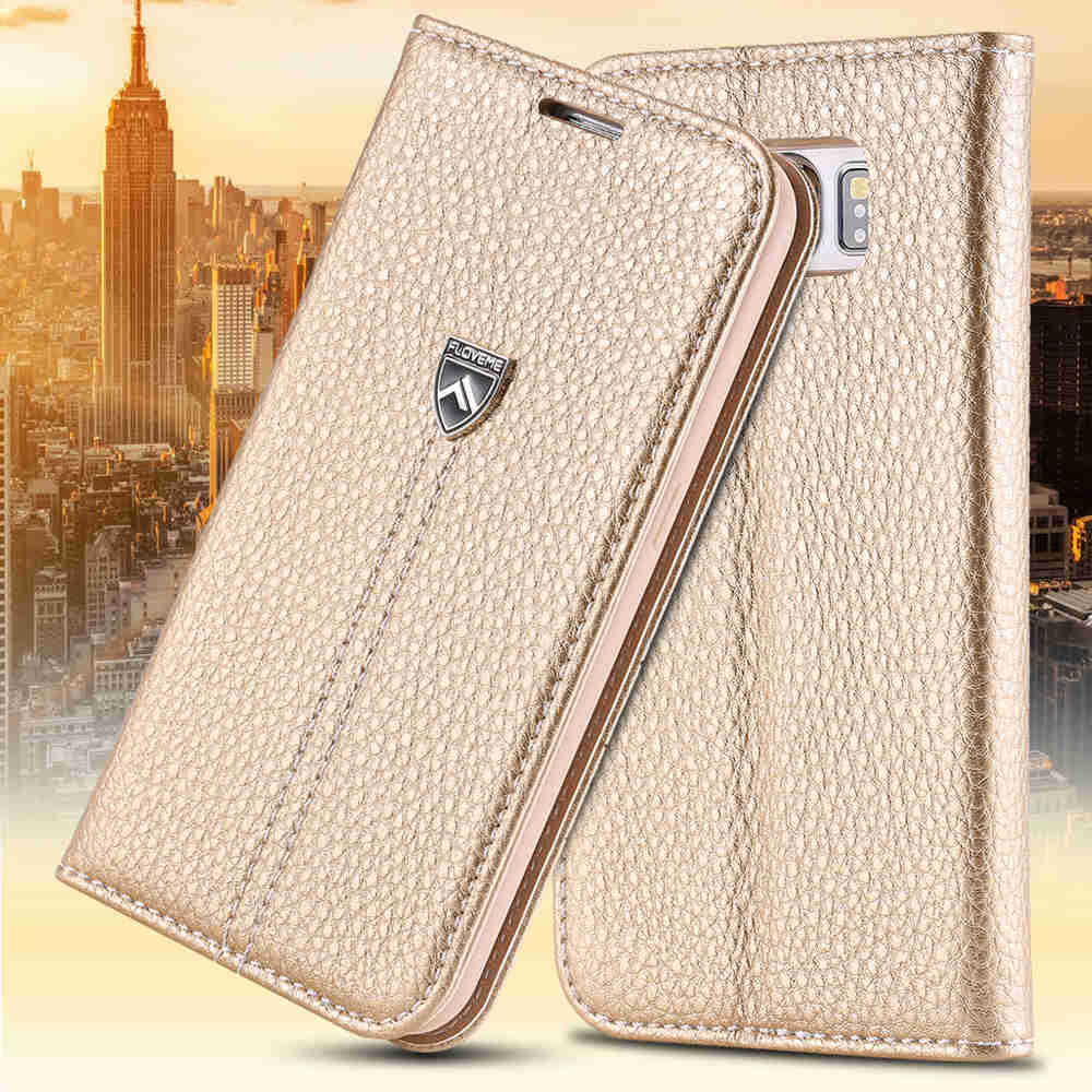 S6 ! Original Brand Logo Luxury Flip Leather Case for Samsung Galaxy S6 G9200 Accessories Wallet Stand Retro Noble Cover(China (Mainland))