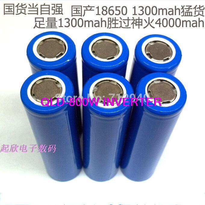 Brand New 18650 3.7V 1300mAh Batteries Rechargeable Battery Safe Industrial Use Laptop